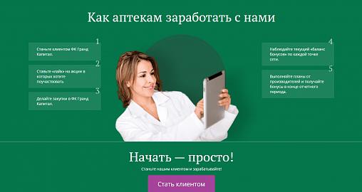 Дополнительный доход подключенной к порталу «КАПИТАЛ» аптеки в I квартале 2020 года вырос до 500 тысяч рублей
